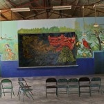 School mural in San Carlos