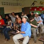 Students visit school in San Carlos