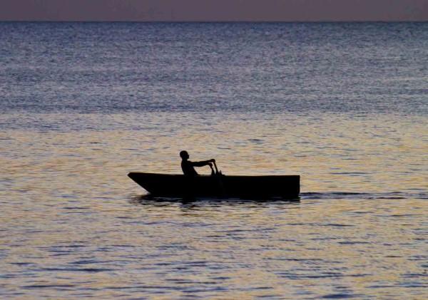 Rowing Man. Photo by Bryan Watts.